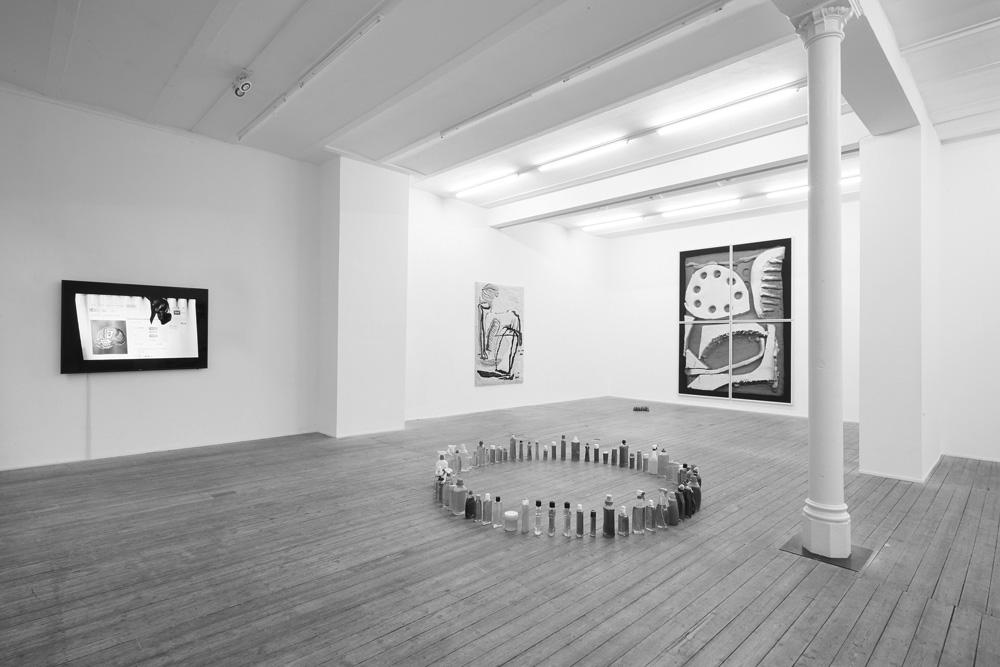 farben im interieur geschickt eisetzen 3d visualisierung, conradi, contemporary art gallery., Design ideen
